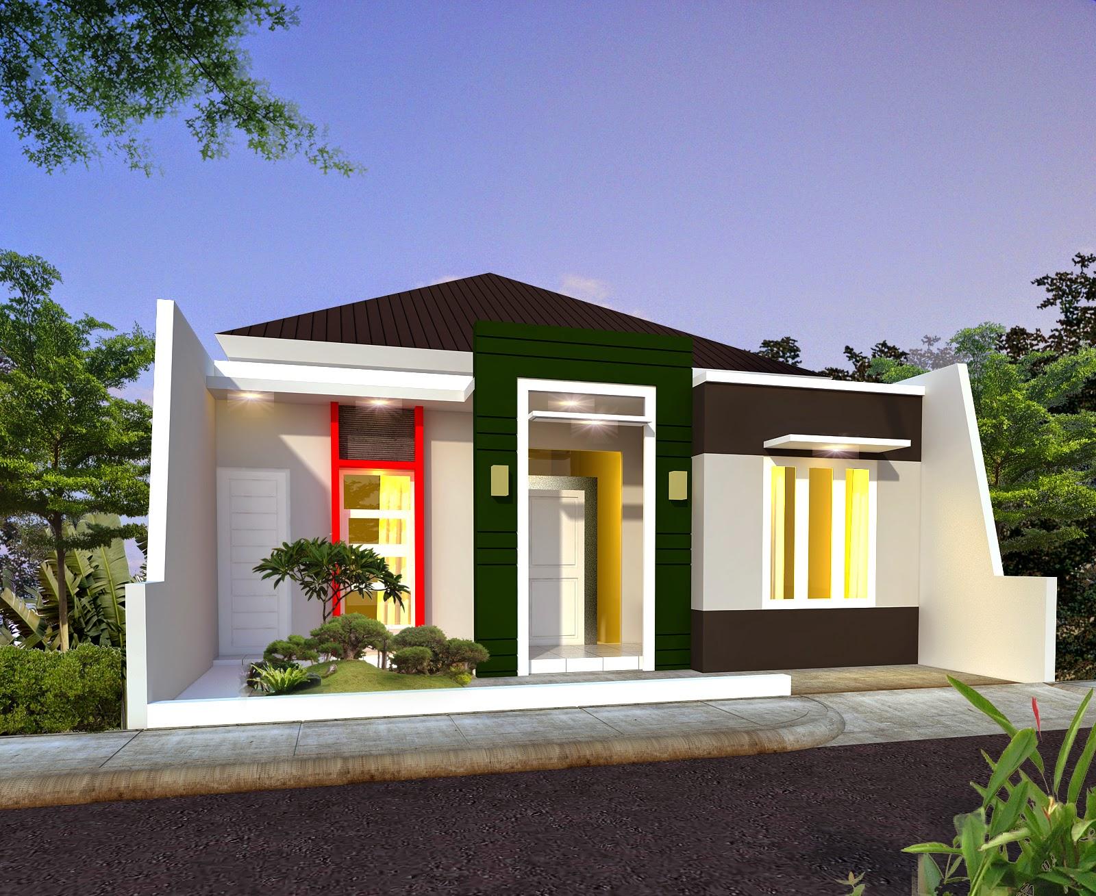 Desain Rumah Minimalis Sederhana Terbaik 1