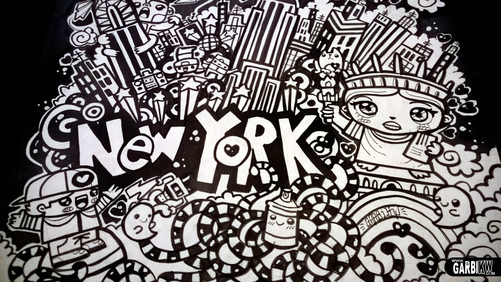 Colouring Pages Graffiti Letters : Drawn graffiti swag many interesting cliparts