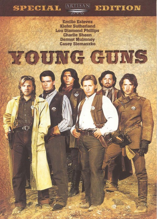 Young Guns [1988] DVDrip - CINEMANIAC