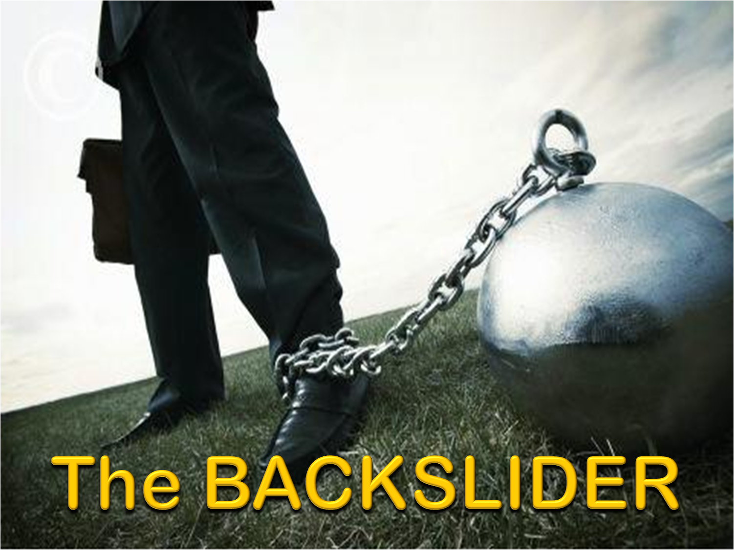 why people backslide Some causes of backsliding by frank jamerson  many people have extra room, and most preachers enjoy being with people and are not really different from human beings you don't have to.