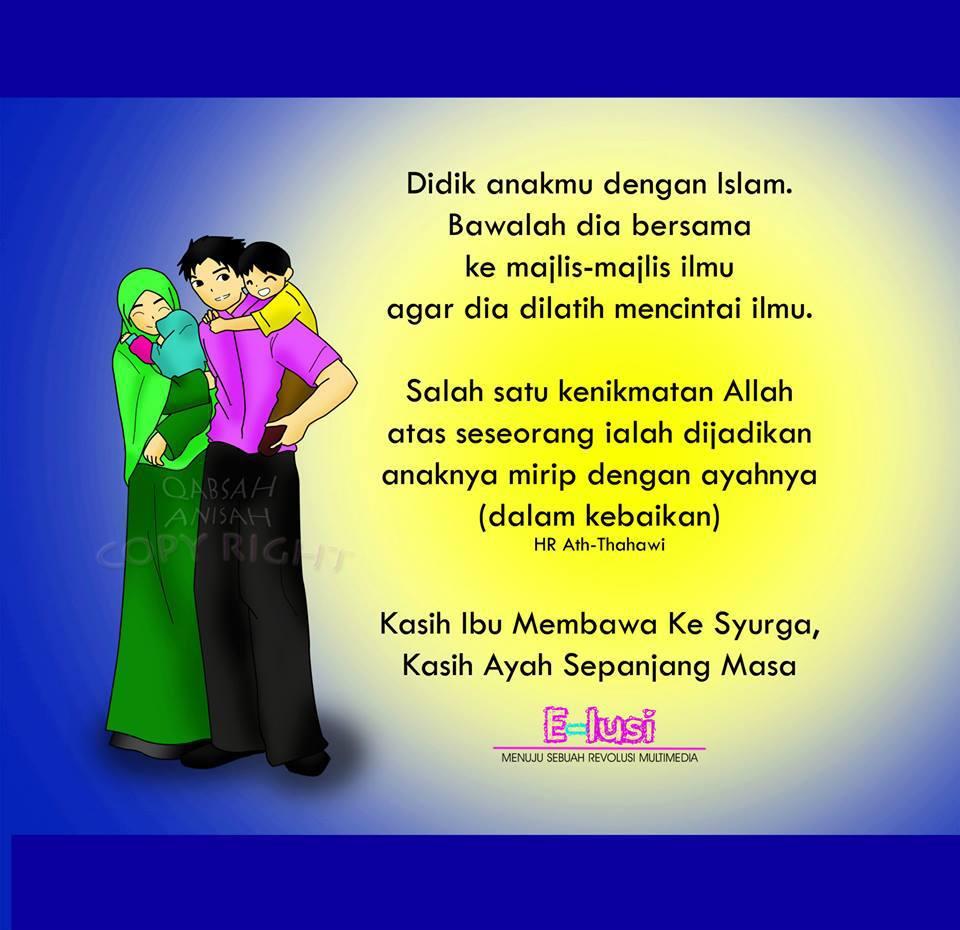 Bali Qsg9742 Kasih Ibu Membawa Ke Syurga Kasih Ayah Sepanjang Masa