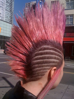 Mohawk Hair Tattoo