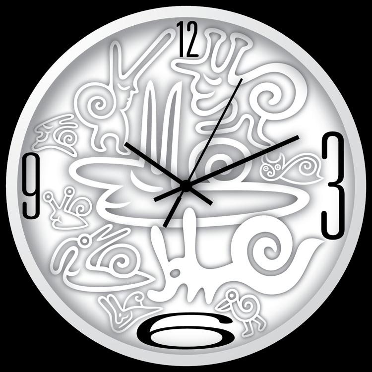 Wall Clock Designs  Wanduhr-Designs  The Colourful ...