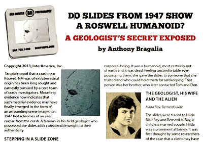 Bragalia's Article As Printed In UFO Today Magazine