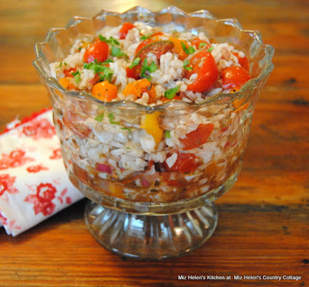 Mini Heirloom Tomato & Rice Salad
