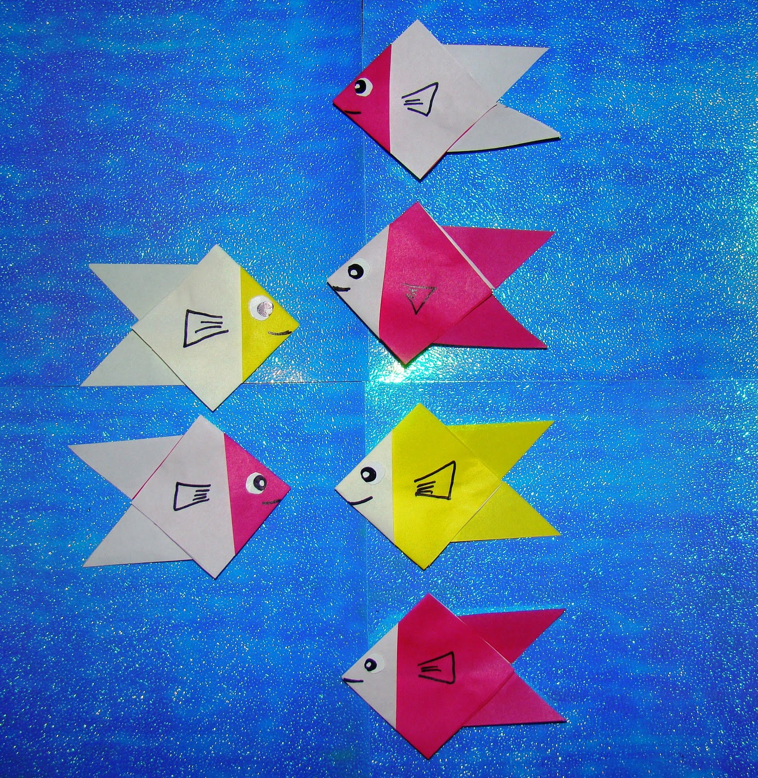 Easy Origami Fish For Little Kids