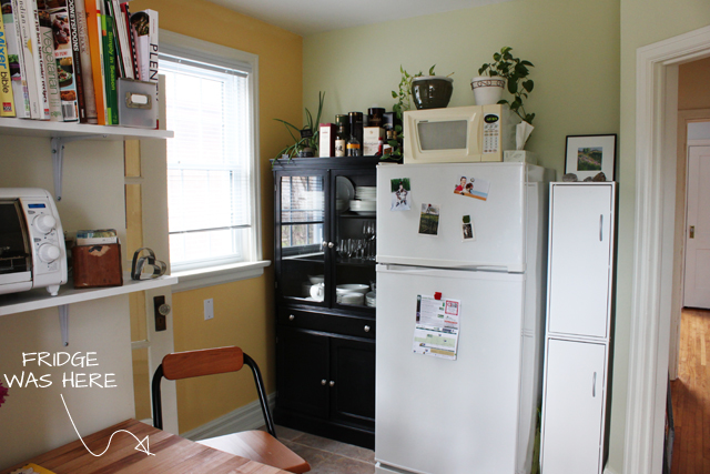 Free The Cupboards To The Right Of The Fridge Were Each From Loweus They  Were With Fridges For Small Kitchens