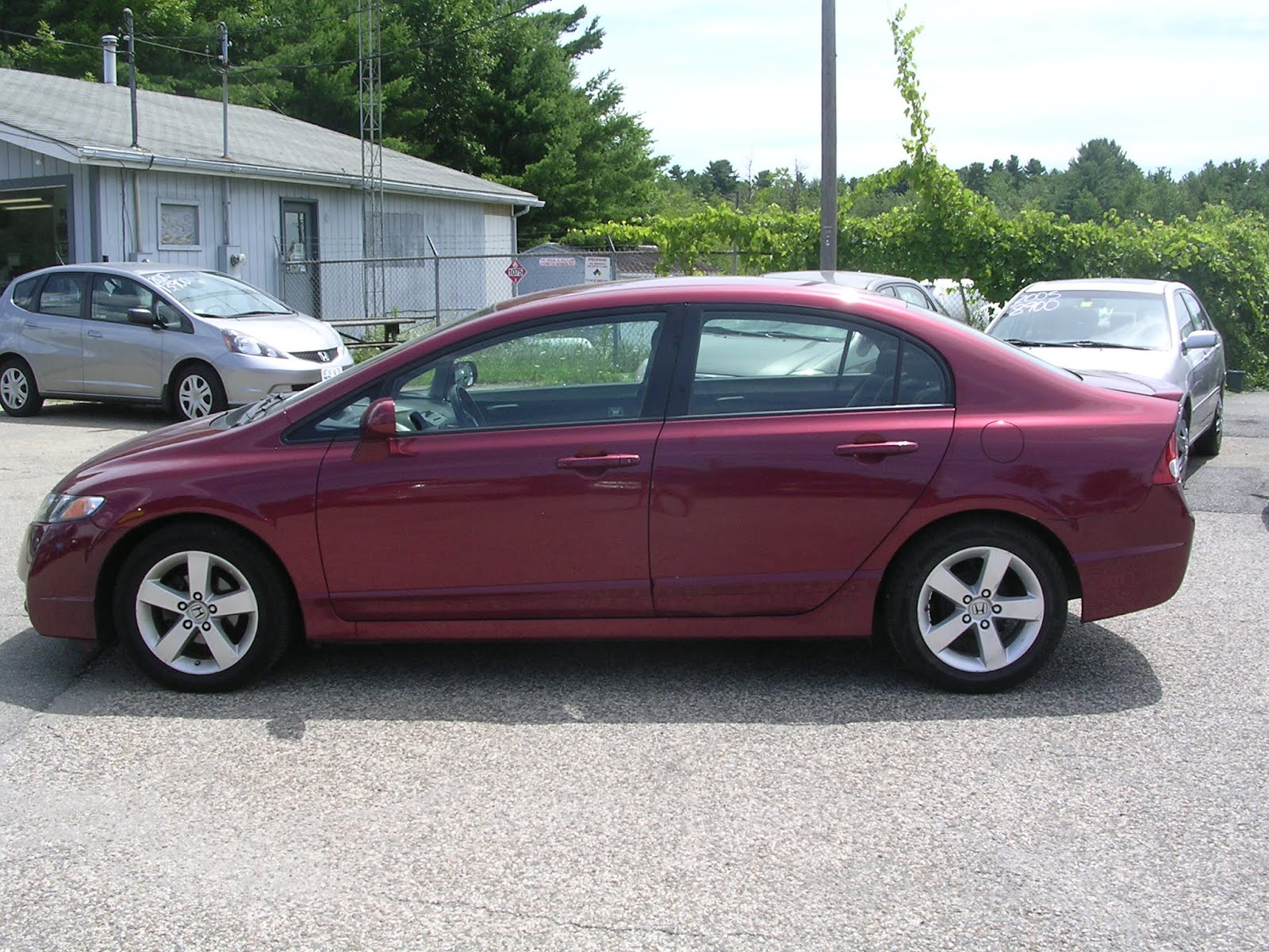 EARTHY CAR OF THE WEEK: 2010 Red Honda Civic LX S