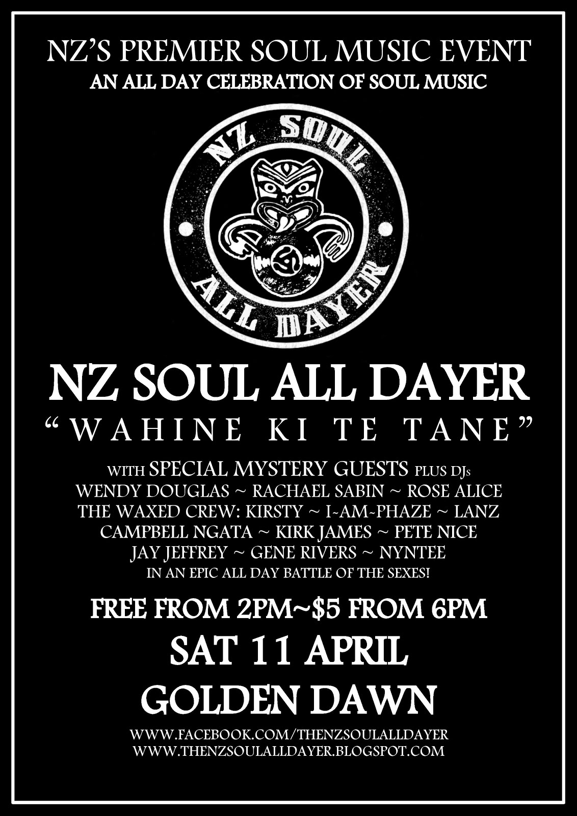 NZ Soul All Dayer #7
