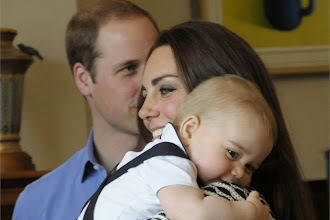 Kate e William: continua il tour in Nuova Zelanda con il piccolo George
