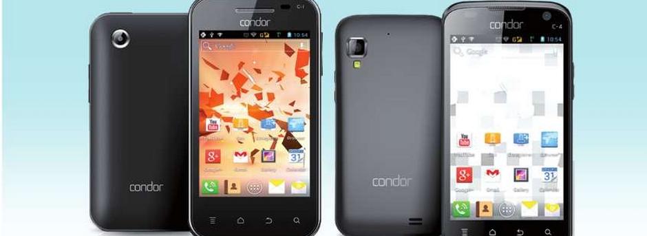 هاتف كوندور الذكي سي 1 Condor smartphone C1