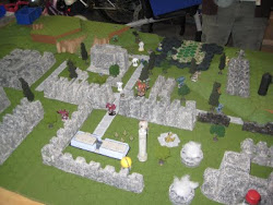 February 2011 Battletech gaming terrain