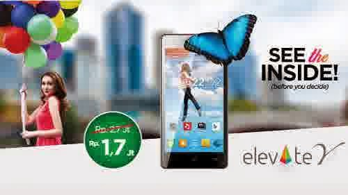 Harga Evercoss Elevate Y A66A