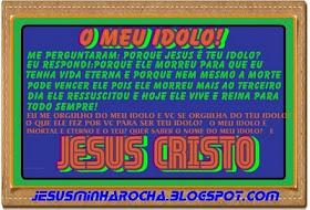 JESUS EU TE AMO!