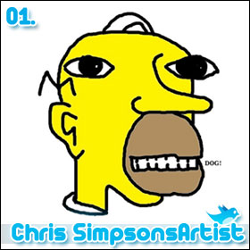 10 People You Have To Follow On Twitter: Chris Simpsons Artist