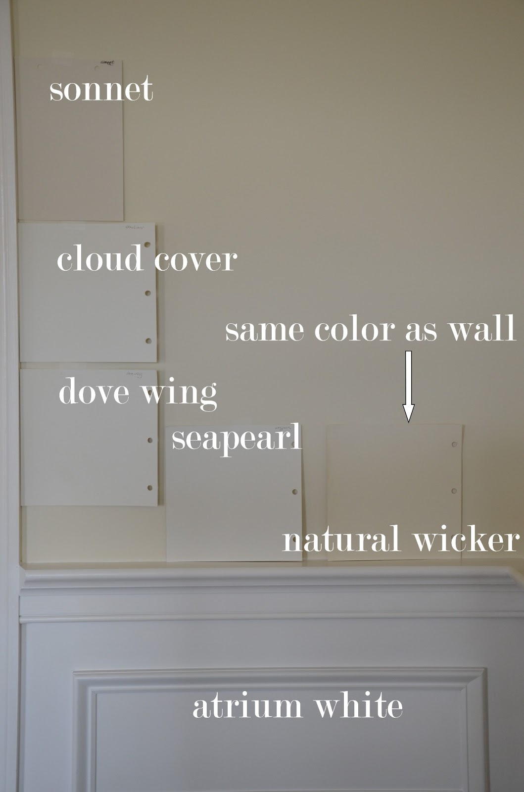 Natural Wicker Paint Color