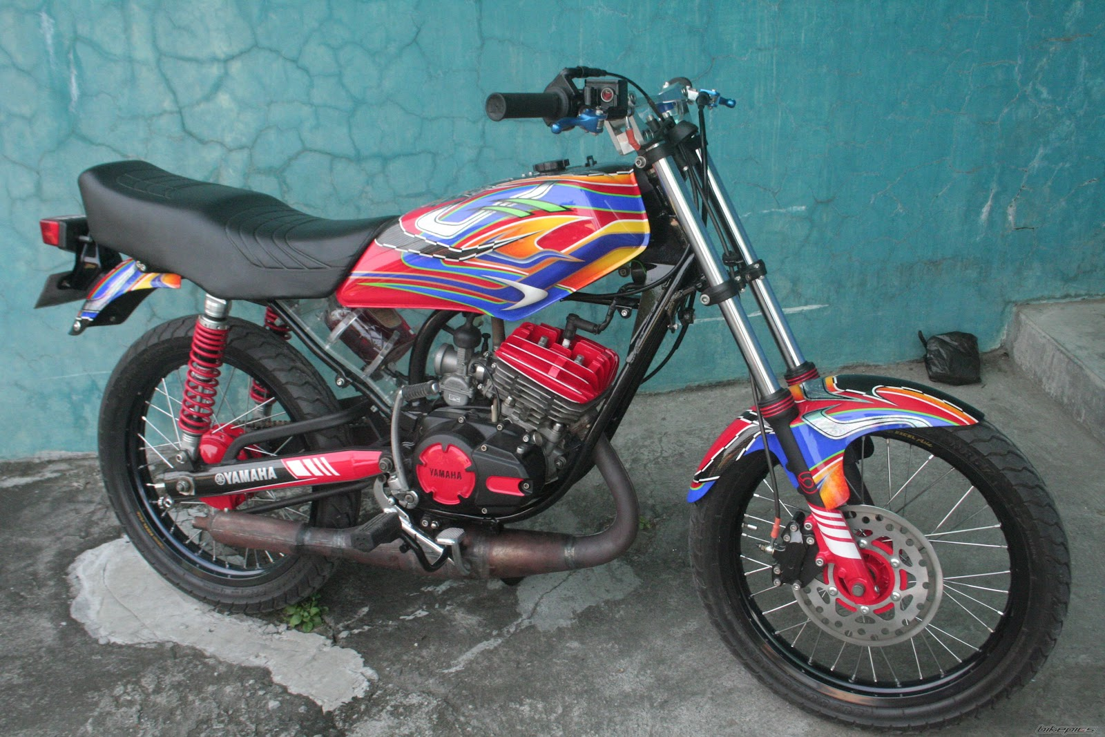 Modif Warna Yamaha Rx King