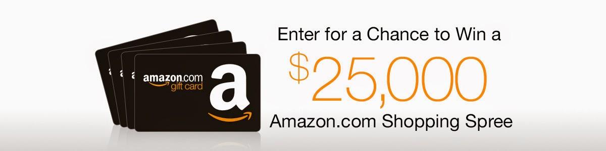 $25,000 Amazon Shopping Spree