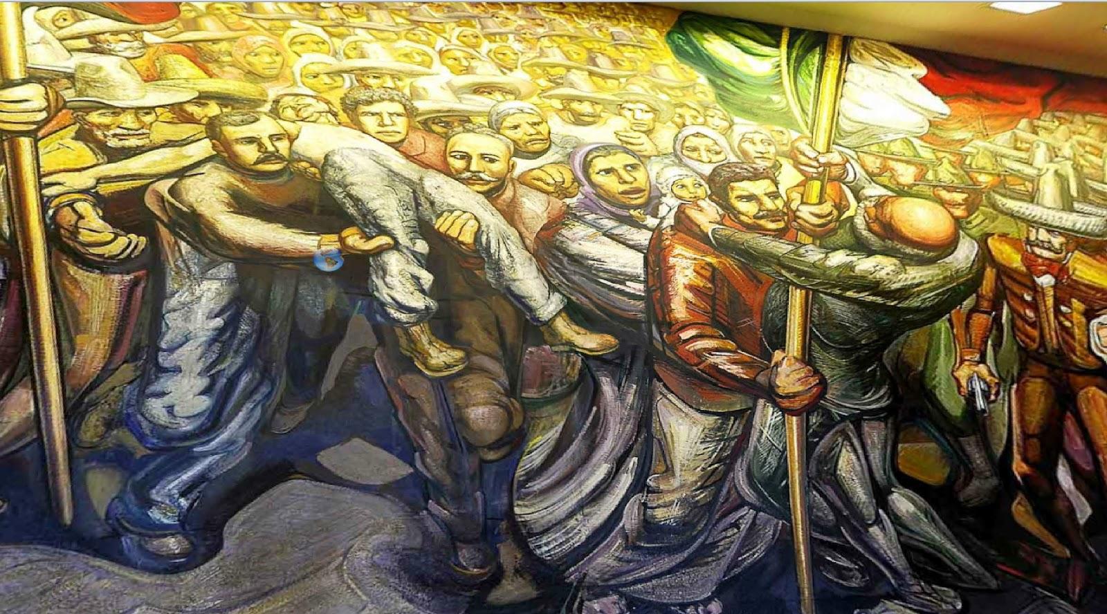 Castillo de chapultepec mural images for Murales para ninos