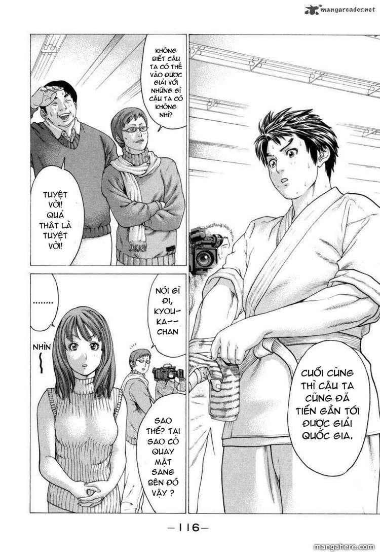 Karate Shoukoushi Kohinata Minoru chap 82 Trang 4