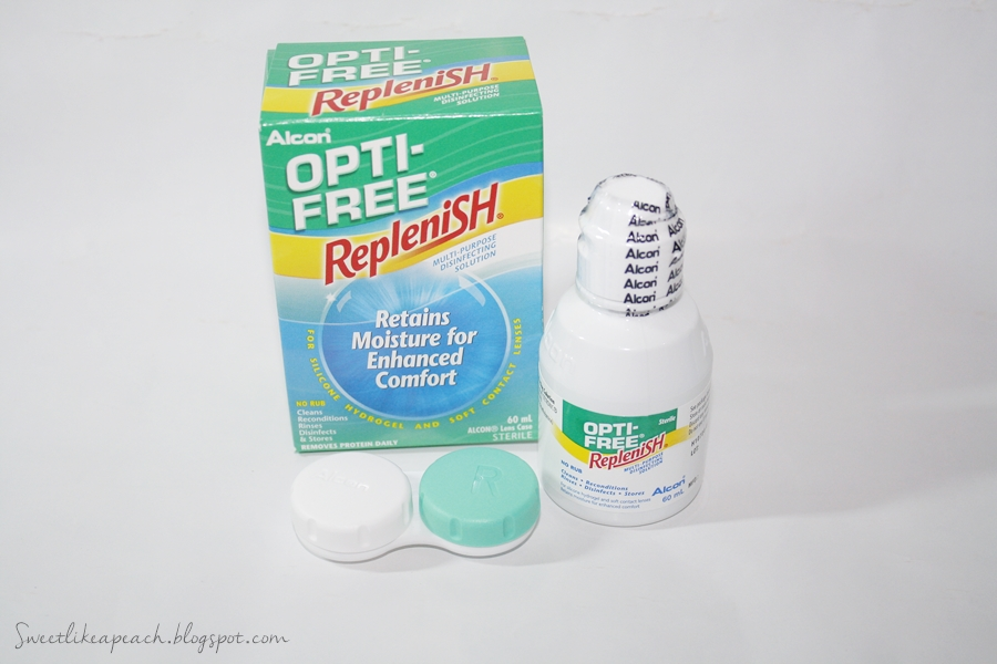 Opti Free Replenish by Alcon