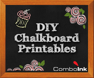 DIY Chalkboard Printables