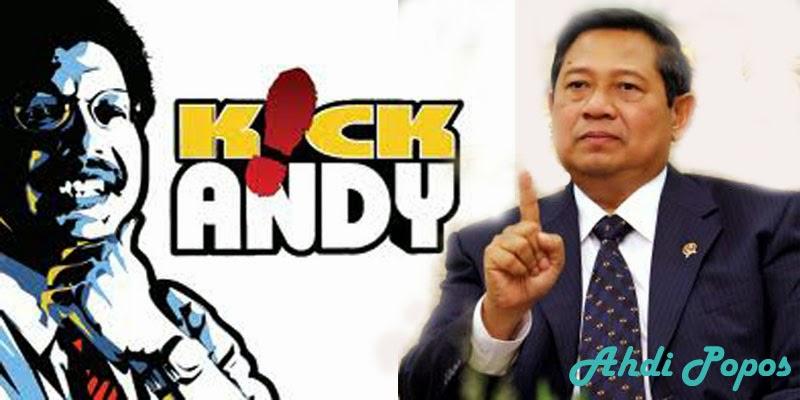 Karena Ada Pertanyaan Korupsi dan Anas, SBY Tolak Hadir Kick Andy Show