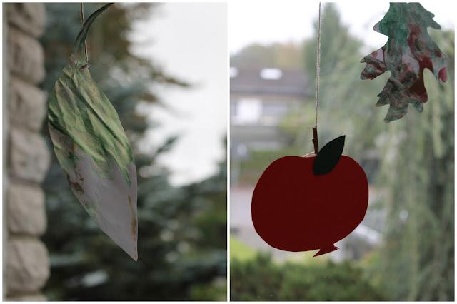 Herbstbastelei fuer Kinder