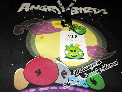 angry birds asian challenge t-shirt