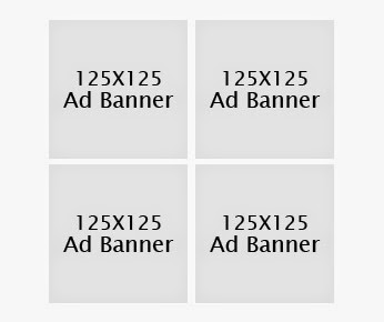 125 x 125 Advertise Banner