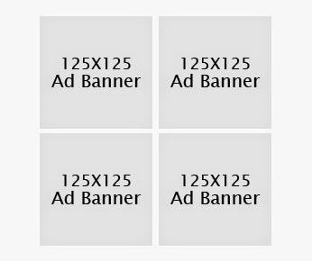 125 x 125 Advertise Banner