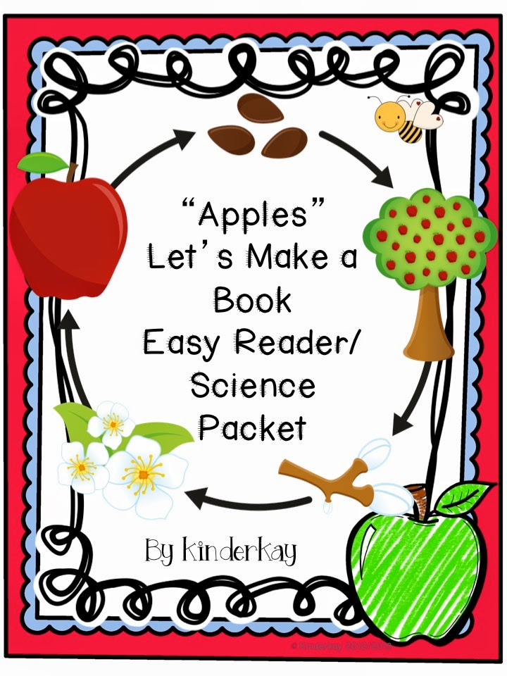 http://www.teacherspayteachers.com/Product/APPLES-Lets-Make-a-Book-Science-and-Social-Students-Pack-140237