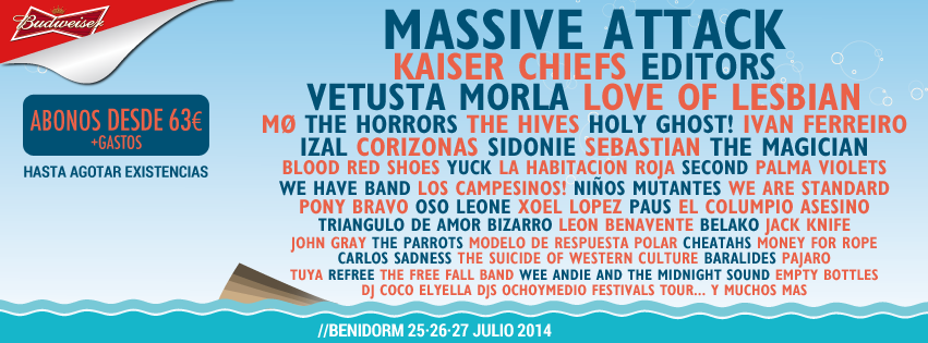 Low Festival, 2014, Cartel