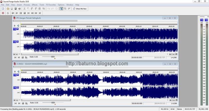 Download Sony Sound Forge Audio Studio 10.0 Build 245 Full Aktivasi :