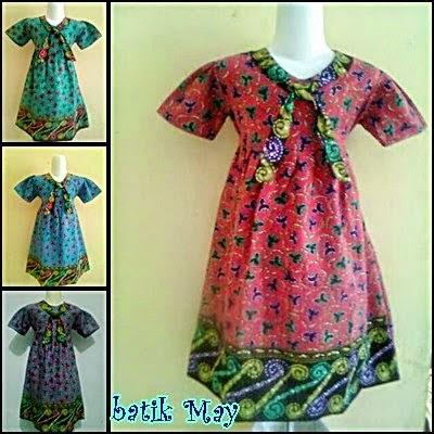 Foto Baju Batik Anak Jogja