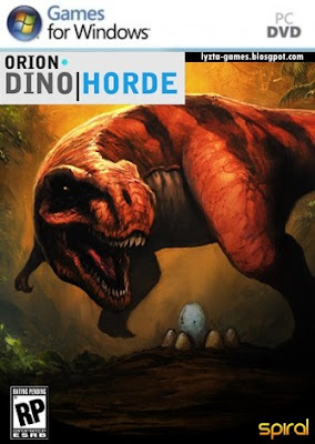 Orion: Dino Horde PC Cover