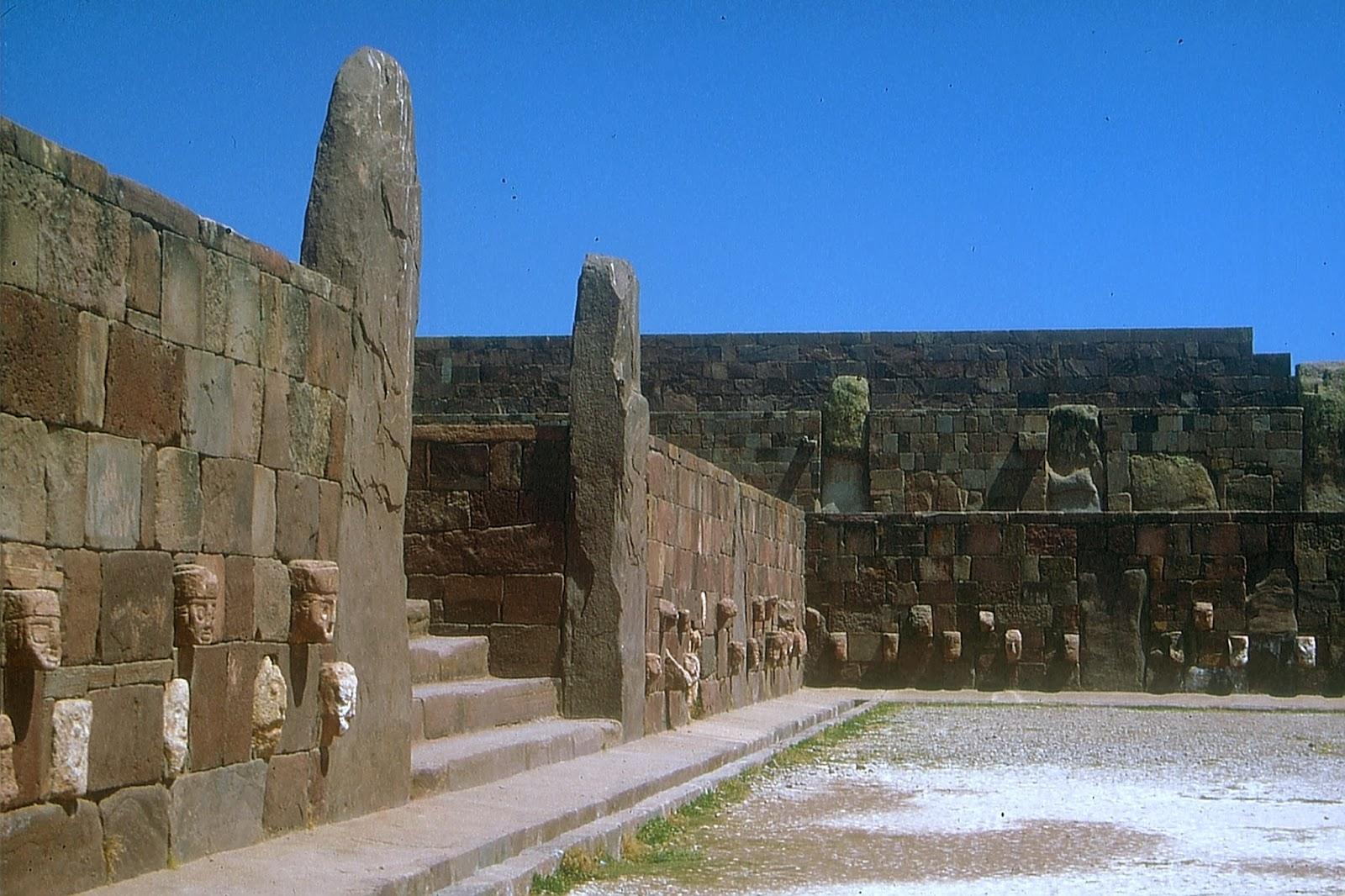 Tiwanaku i Bolivia