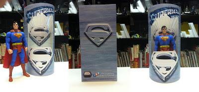Custom superman figure Man of Steel Superman Batman Dark Knight Rises Movie Masters