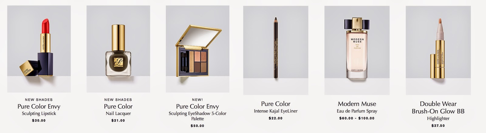 Kendall Jenner's favorit Estee Lauder Products