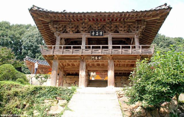 Templo Buseoksa en Corea del Sur
