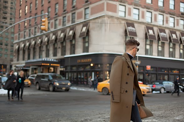 mens winter fashion winter coats brown coats mens hairstyles high fade new york street style 2014