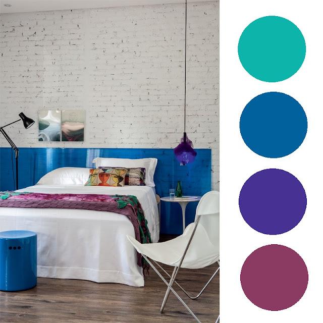 Gama De Azules Dormitorio Fatidica Gala Deco Miscelanea