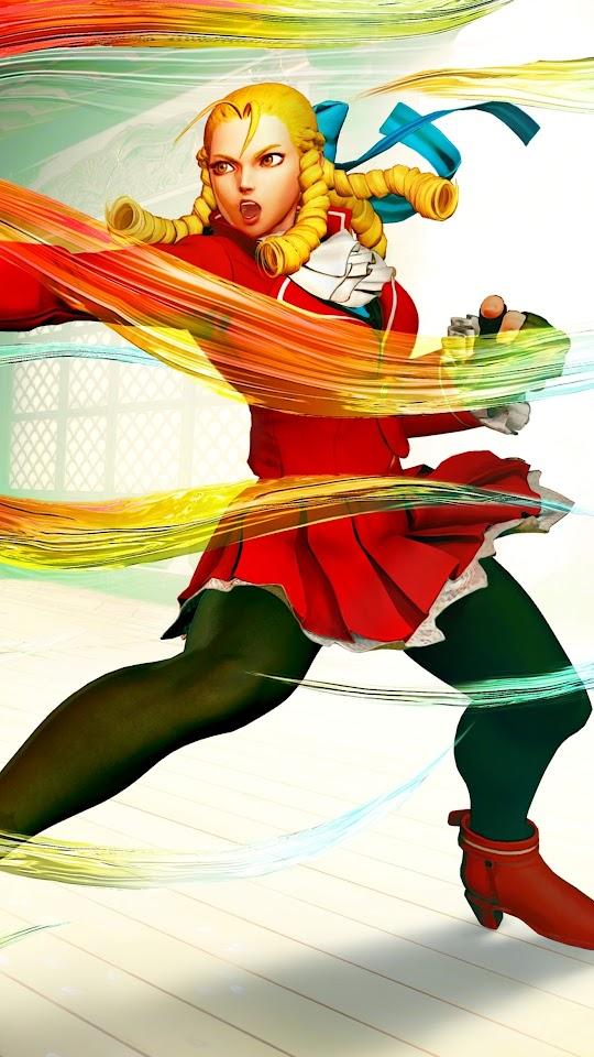 Karin Street Fighter V Galaxy Note HD Wallpaper