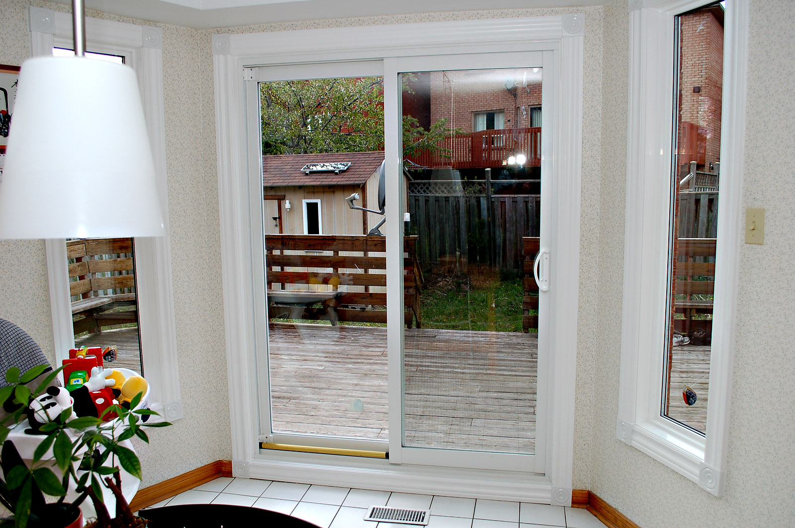 Ajr window technologies for Interior patio doors