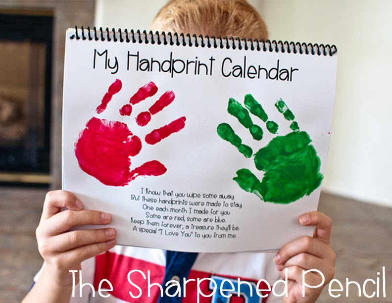 Calendar Ideas For Grandparents : The sharpened pencil december currently elf in