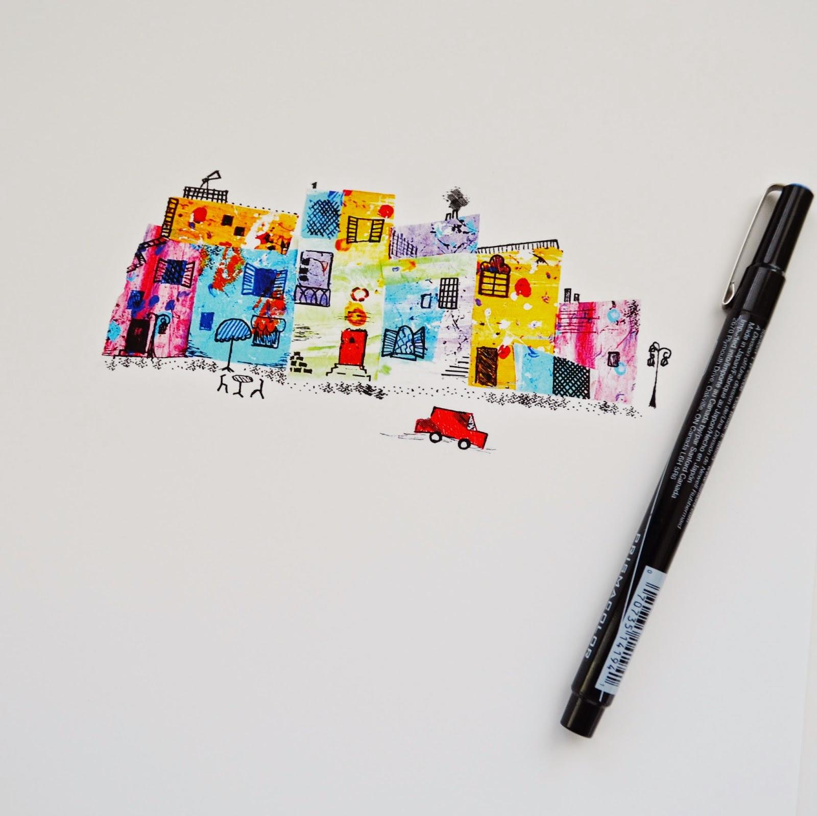 http://www.snugglebuguniversity.com/2014/09/an-eric-carle-inspired-art-day.html