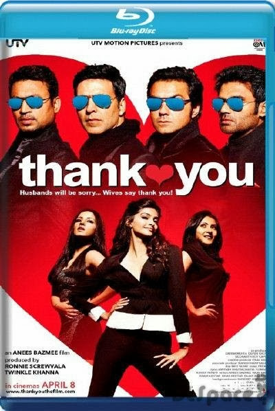 Thank you 2011 Hindi 720p  700MB HEVC x265 Download Now