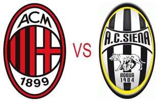 Prediksi Skor AC Milan vs Siena 06 Januari 2013