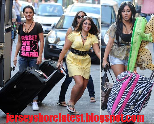 photos of jersey shore cast in italy. Jersey Shore Cast Land in
