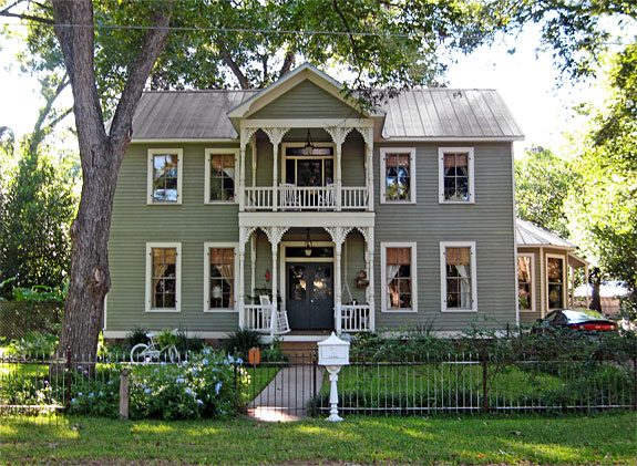 Greek revival style house house affair for Revival home